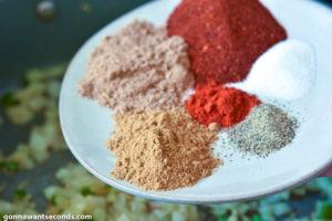How to make Chili cornbread casserole, adding spices