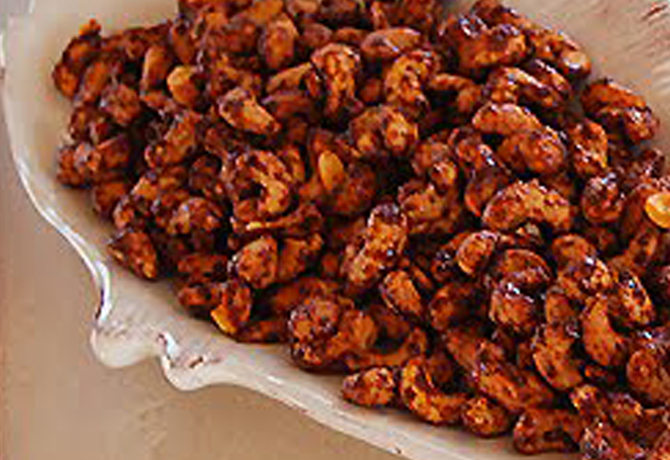 Sweet Chili Cashews