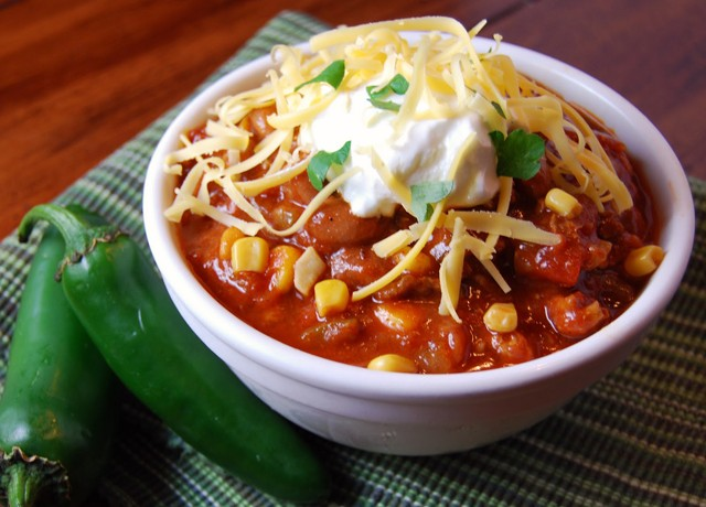 The BEST Turkey Chili