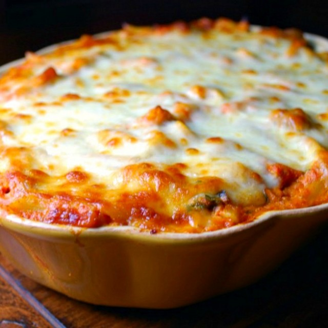 Baked Ziti With Mini Meatballs Gonna Want Seconds
