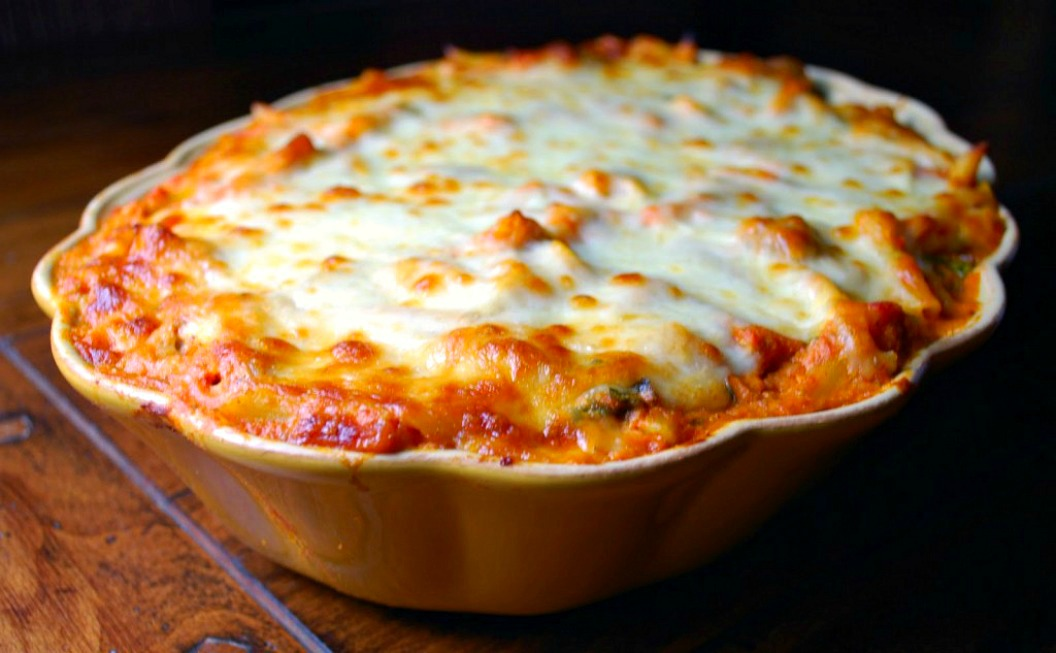 Baked Ziti with Mini Meatballs
