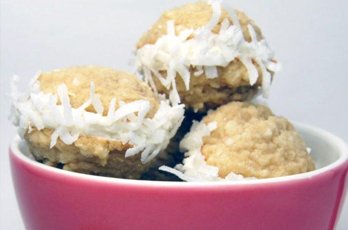 Coconut Cookie Sandwiches