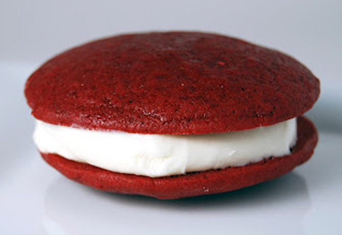 Gonna Want Seconds - Red Velvet Whoopie Pies - Gonna Want Seconds
