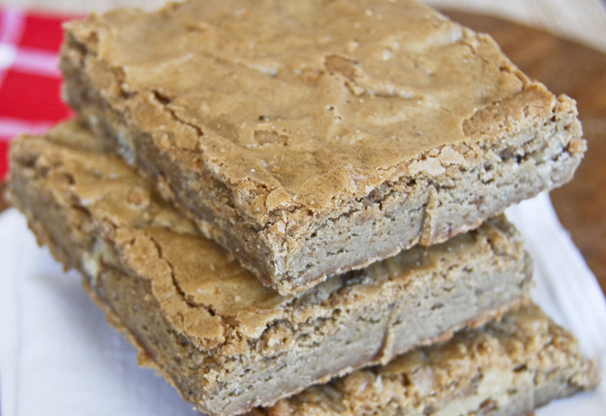 The Perfect Classic Blondies