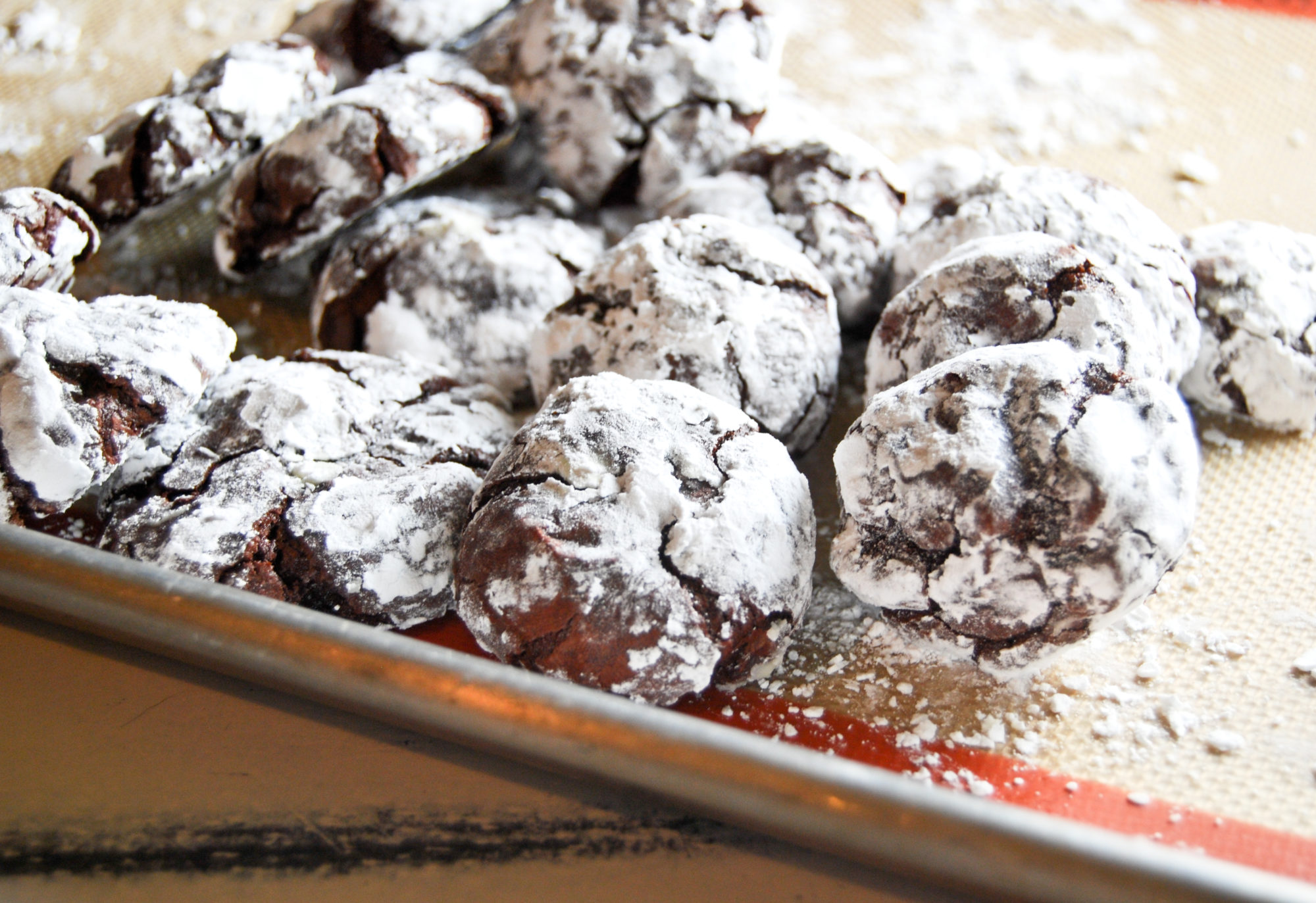 Everyday Food April  Mexican Hot Chocolate Cookies
