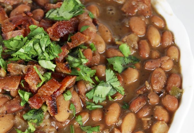 drunken_mexican_beans_with_cilantro_and_bacon