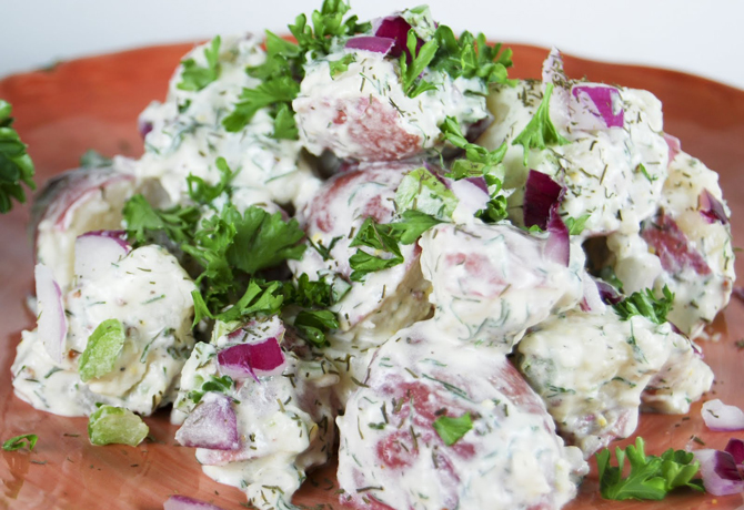 Ina's Potato Salad