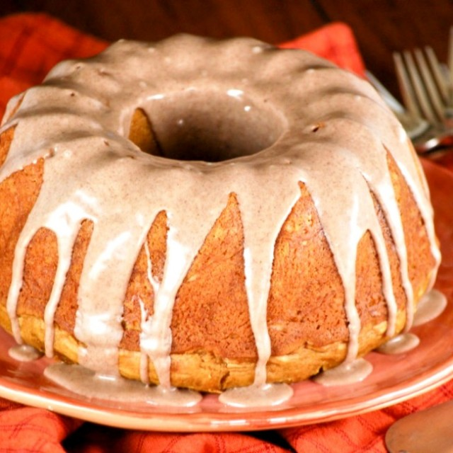 Recipe For Dessert With Canned Pumpkin And White Cake Mix