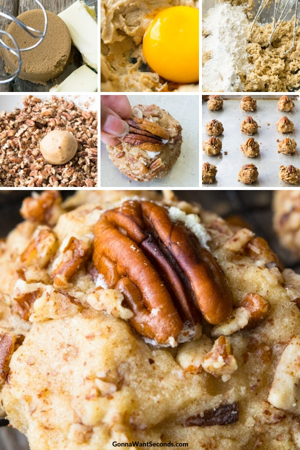 Step By Step How To Make Butter Pecan Cookies