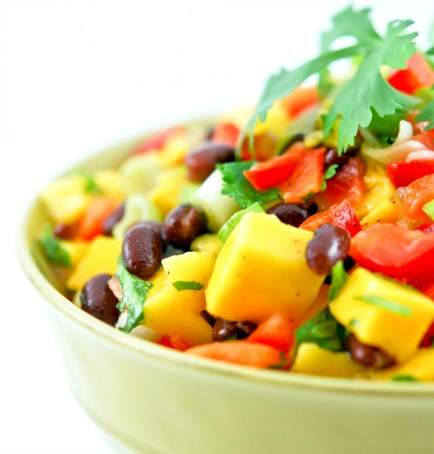 Mango Black Bean Salad - Gonna Want Seconds