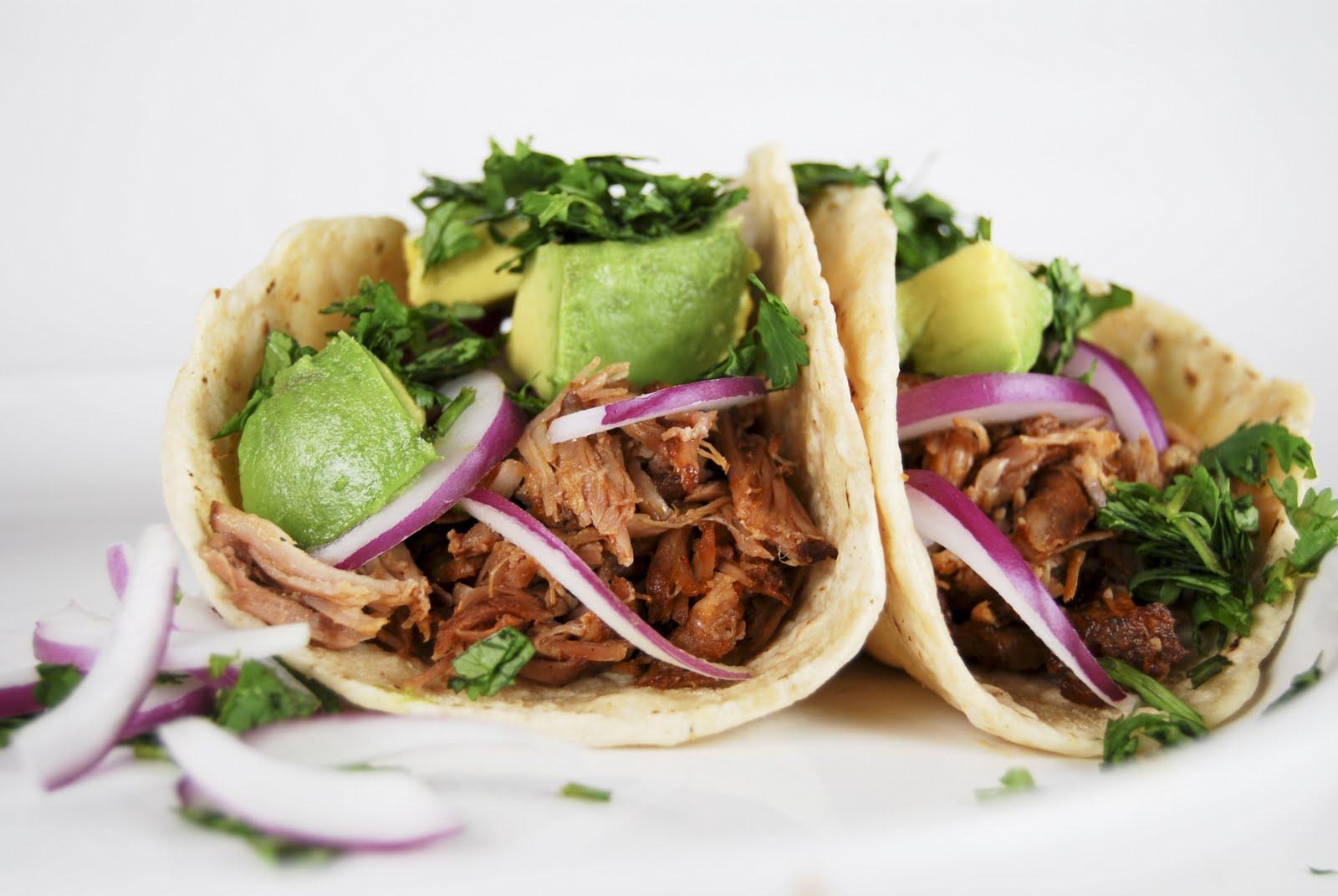 Achiote Roasted Pork Tacos