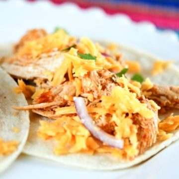 Cafe Rio Crock Pot Chicken Taco