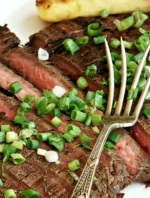 Easy Tropical Flank Steak 1