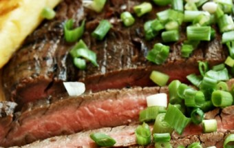 Easy Tropical Flank Steak
