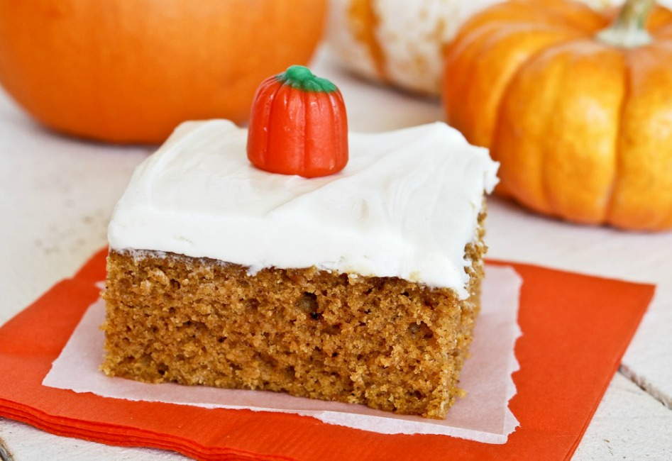 ... spiced. The thick cream cheese frosting is the prefect finish on them