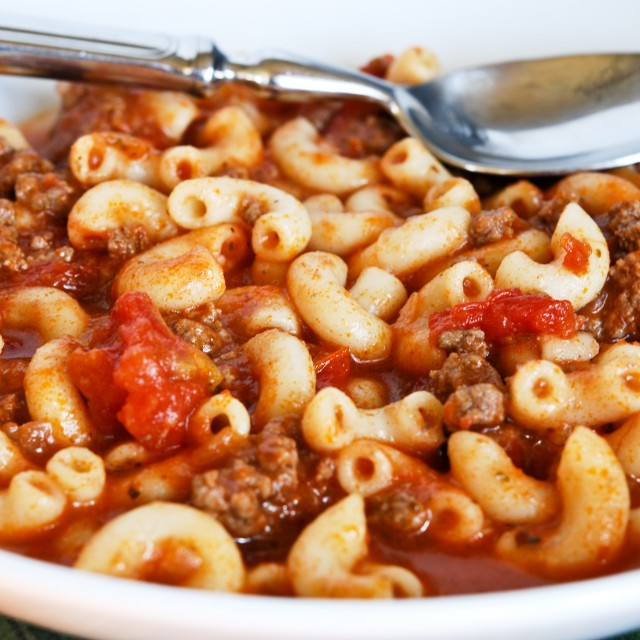 Old Fashion American Goulash (With Video!)-One Pot Family Favorite!