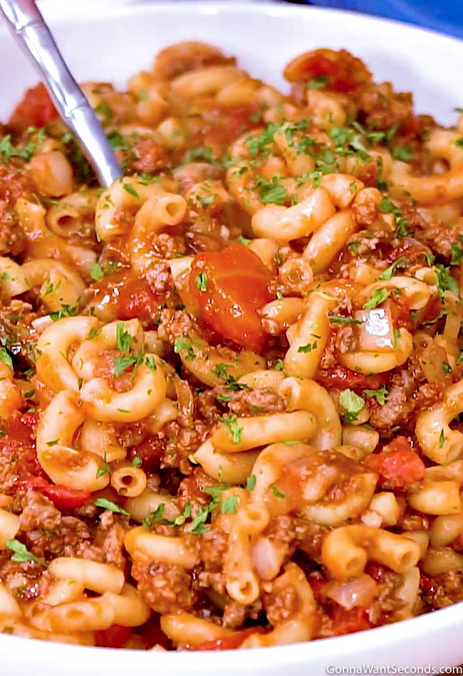 Old fashion american goulash one pot family favorite american goulash forumfinder Images