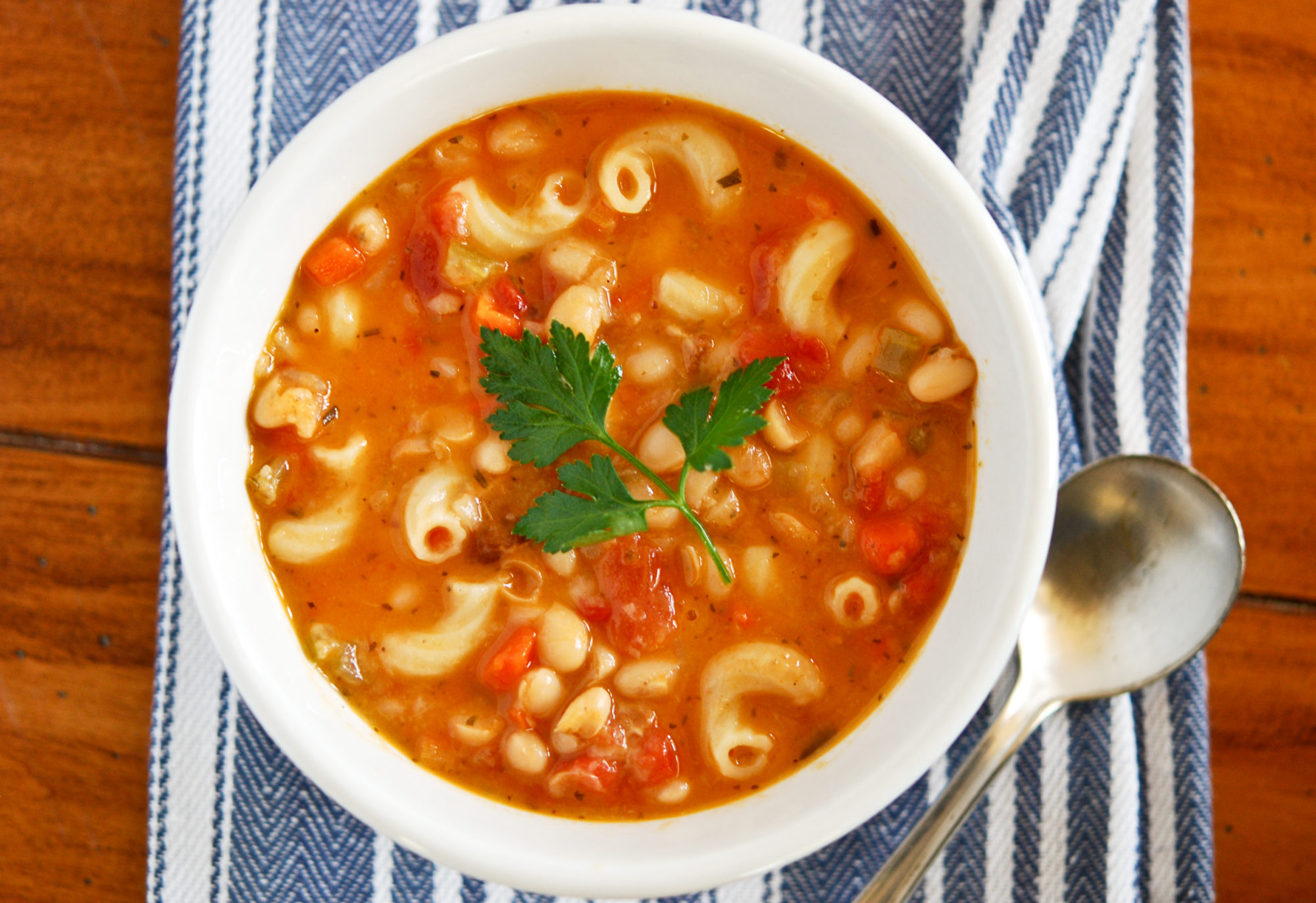 Pasta Fagioli Soup - Gonna Want Seconds