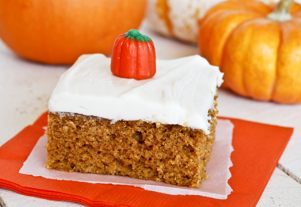 Pumpkin Bars with Cream Cheese Frosting - Gonna Want Seconds