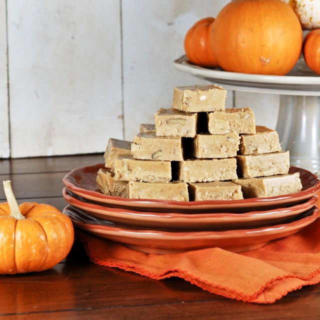 Pumpkin Pie Fudge 1-0149