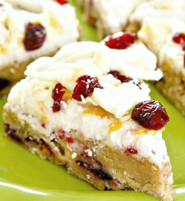 Cranberry Bliss Bars-Starbuck's Copycat