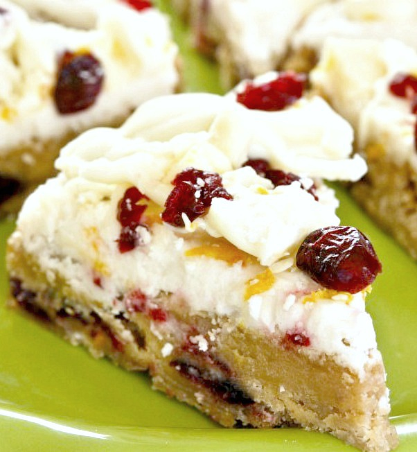 Cranberry Bliss Bars Starbucks Copycat