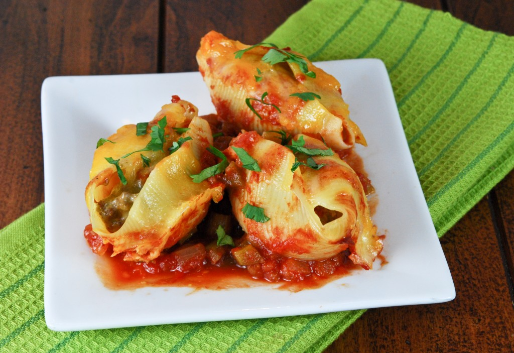 Taco Stuffed Shells - Gonna Want Seconds
