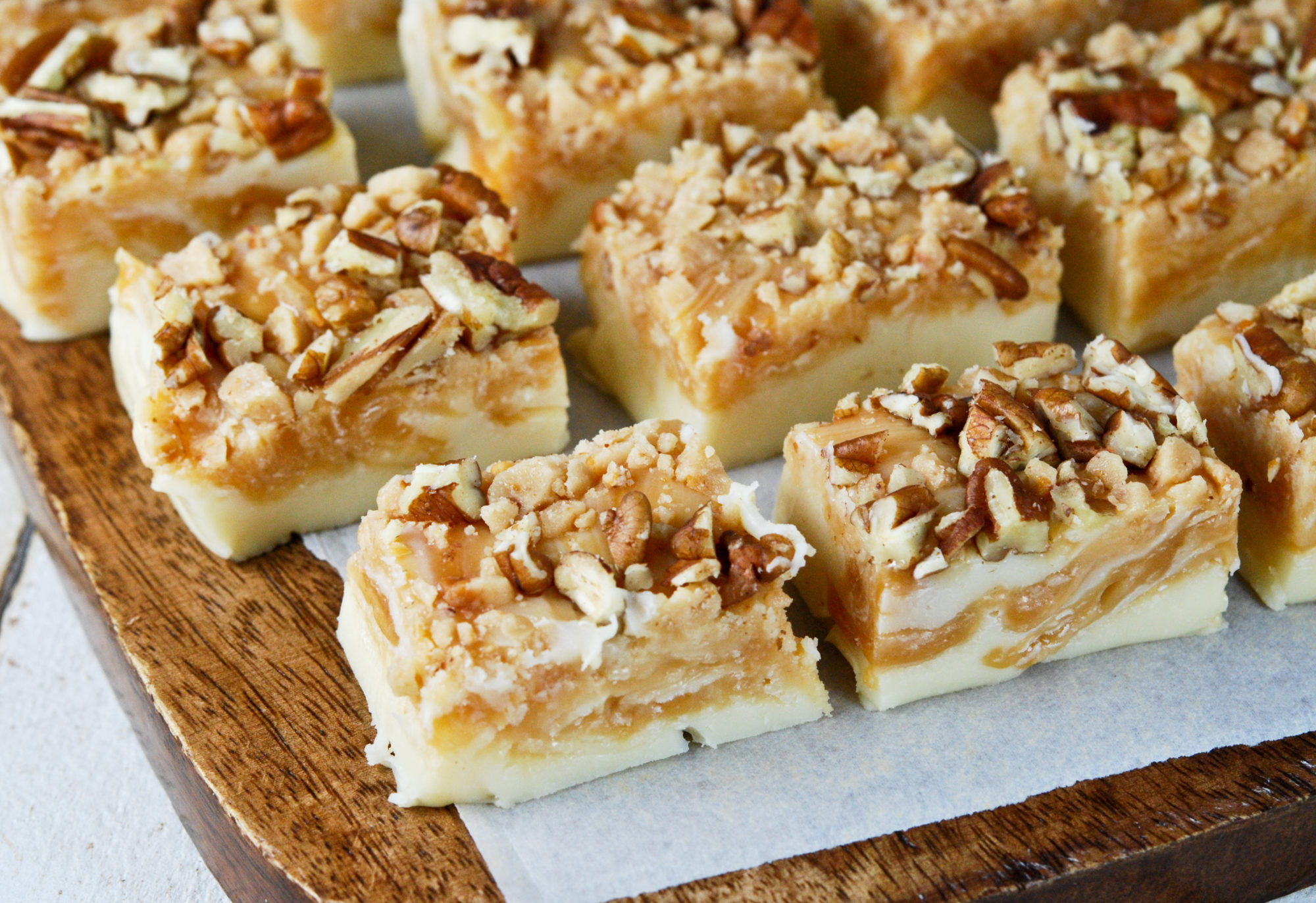 White Chocolate Butterscotch Fudge - Gonna Want Seconds