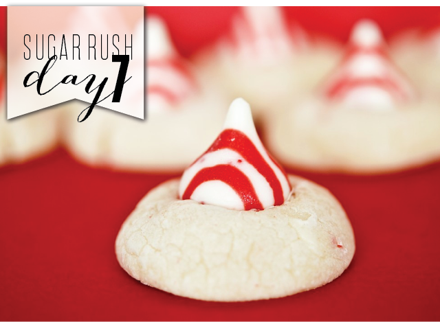 Peppermint Candy Cane Kiss Cookies - Gonna Want Seconds