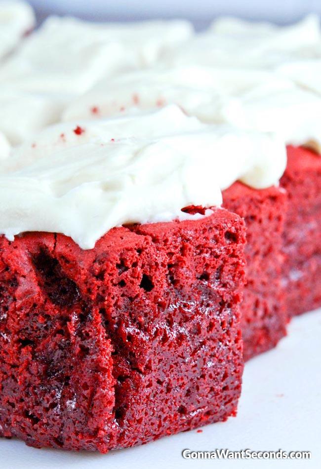Red Velvet Brownies
