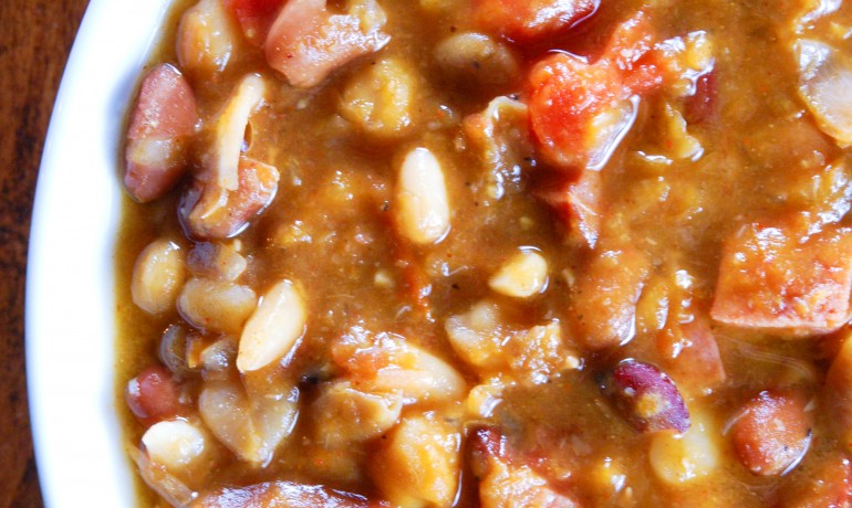 Bean and Sausage Soup - Gonna Want Seconds