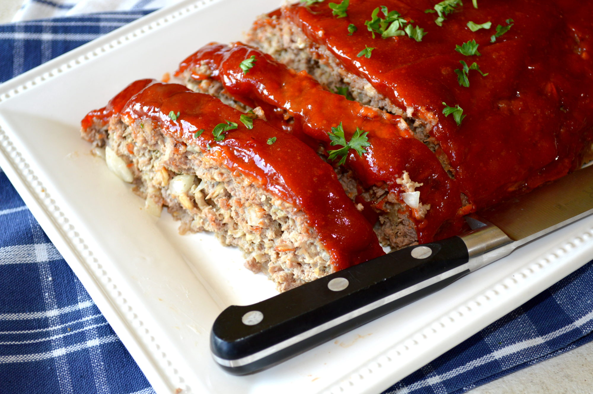 Brown Sugar Glazed Meatloaf ! - Gonna Want Seconds