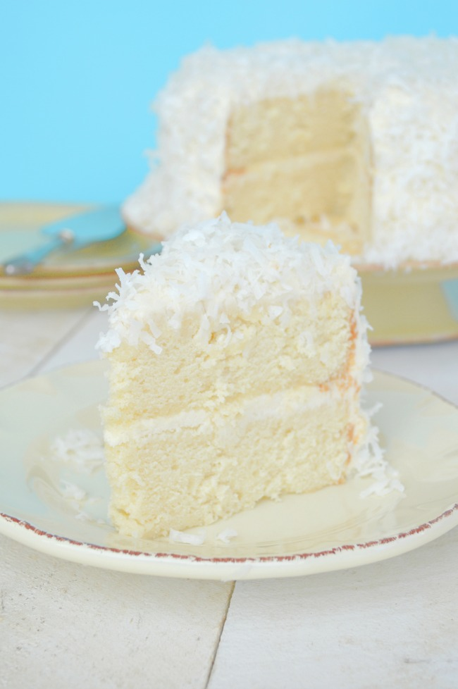Coconut Risotto Cake Recipe
