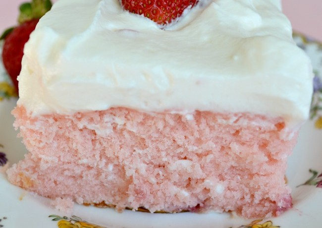 Strawberry Lemon Sheet Cake Southern Living