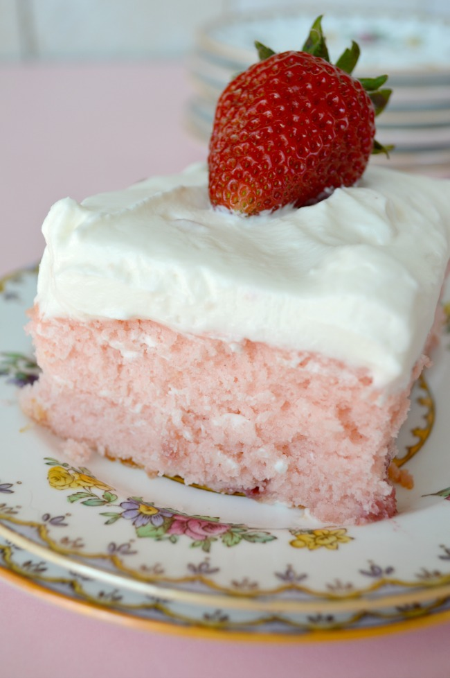Strawberry Sheet Cake with Lemon Cream Cheese Frosting - Gonna Want ...