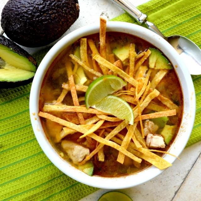My Favorite Tortilla Soup