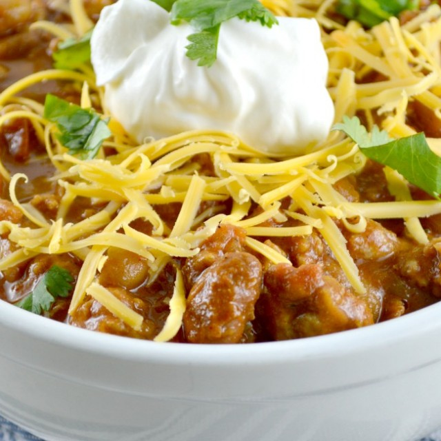 Healthy and Hearty Chicken Chili