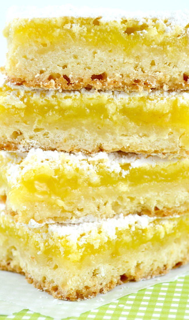 Easy to make Homemade Lemon Bars