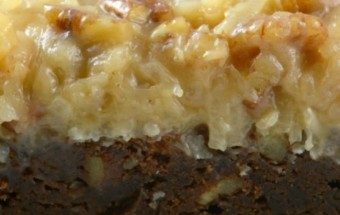 German Chocolate Brownie 1