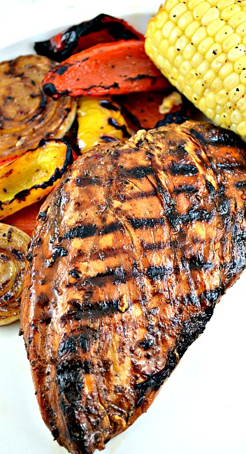 Everday Simple Marinated Grilled Chicken