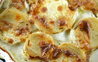 Boursin Cheese Scalloped Potatoes
