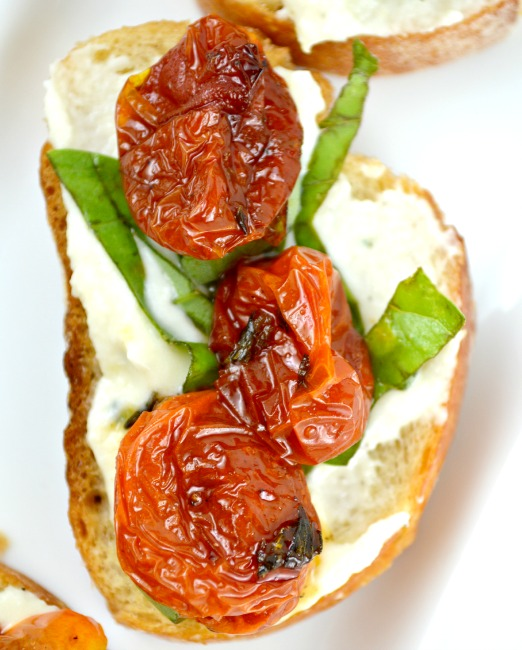 Honey Roasted Tomato Bruschetta 1
