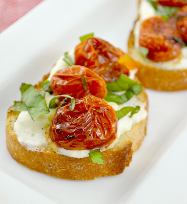 Honey Roasted Tomato Bruschetta 2