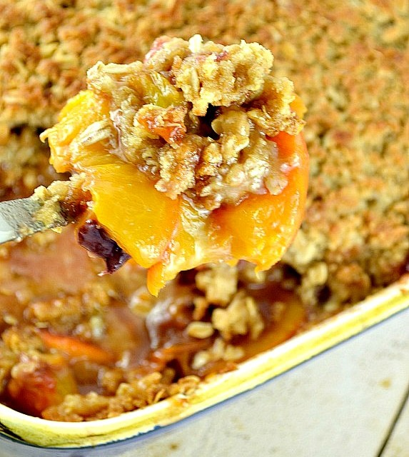 Peach Crisp - Gonna Want Seconds