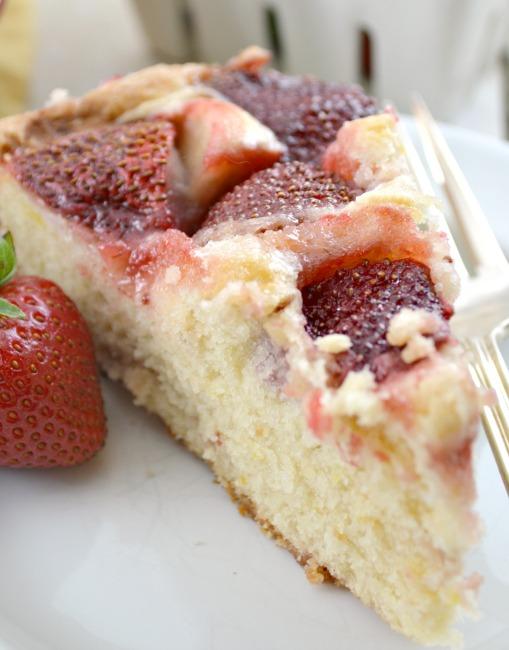Strawberry Summer Cake Recipe