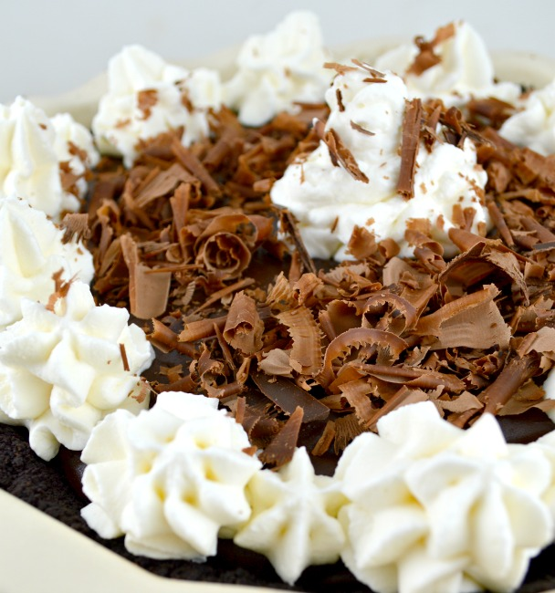Decadent Chocolate Rum Pie