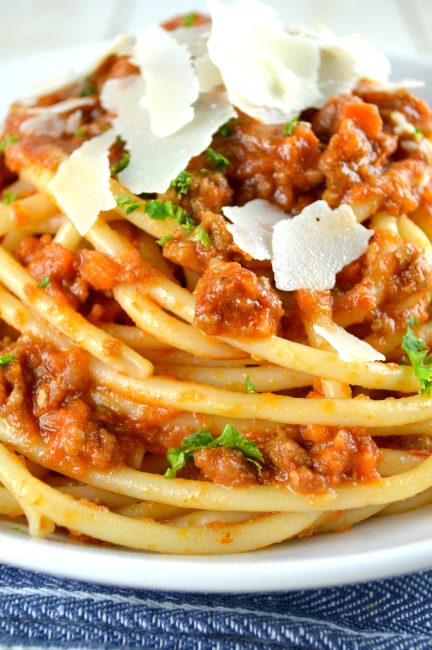 Authentic Ragu Bolognese