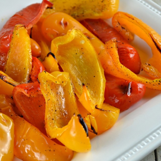Simple Roasted Peppers