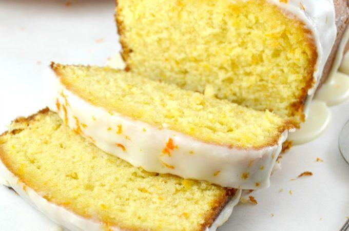 Orange Buttermilk Pound Cake