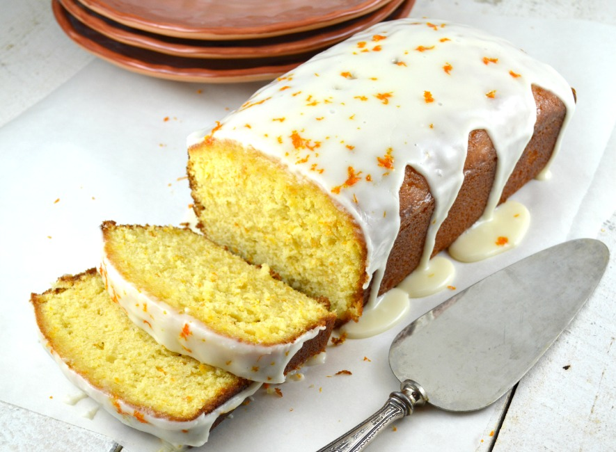 Orange Pound Cake with Orange Syrup and Orange Glaze - Gonna Want ...